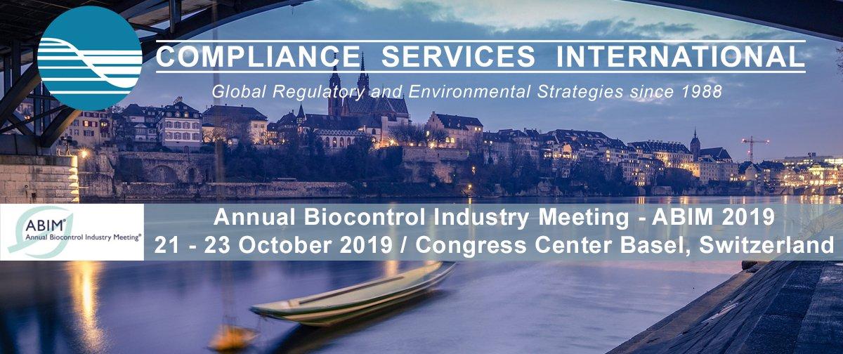 Annual Biocontrol Industry Meeting (ABIM) - 21-23 October 2019