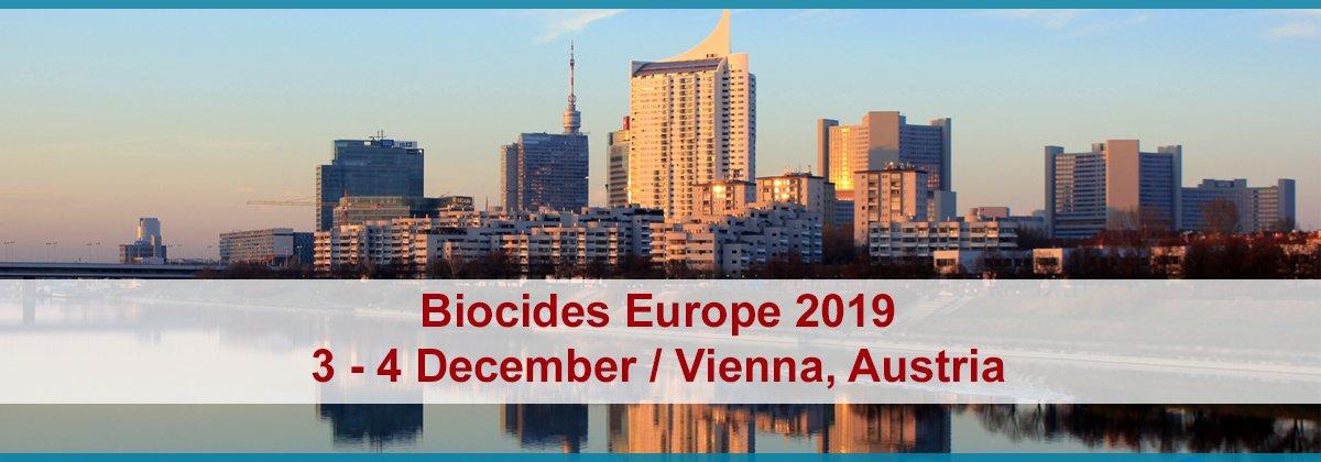 Biocides Europe - 3-4 December 2019