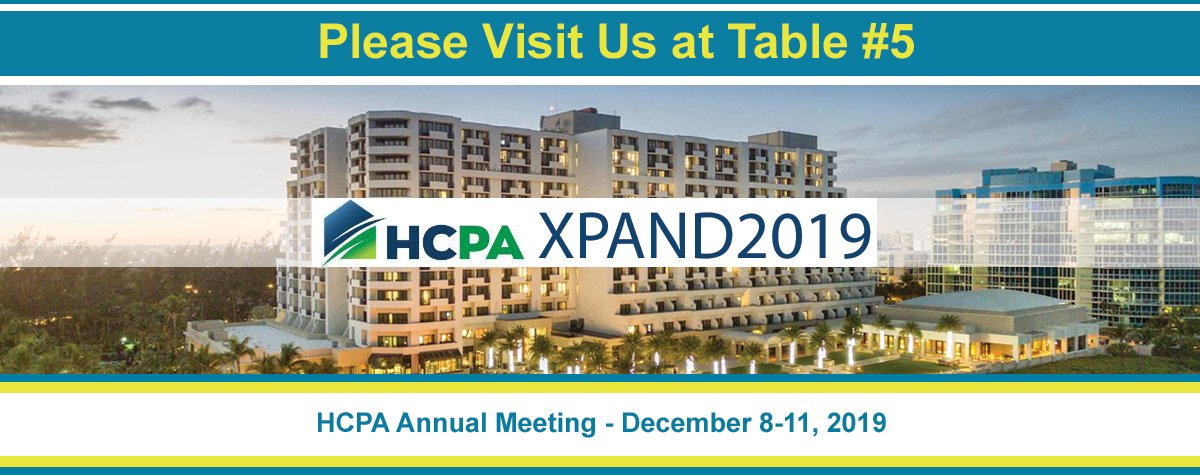 Household and Commerical Products Association (HCPA) Annual Meeting - December 8-11, 2019