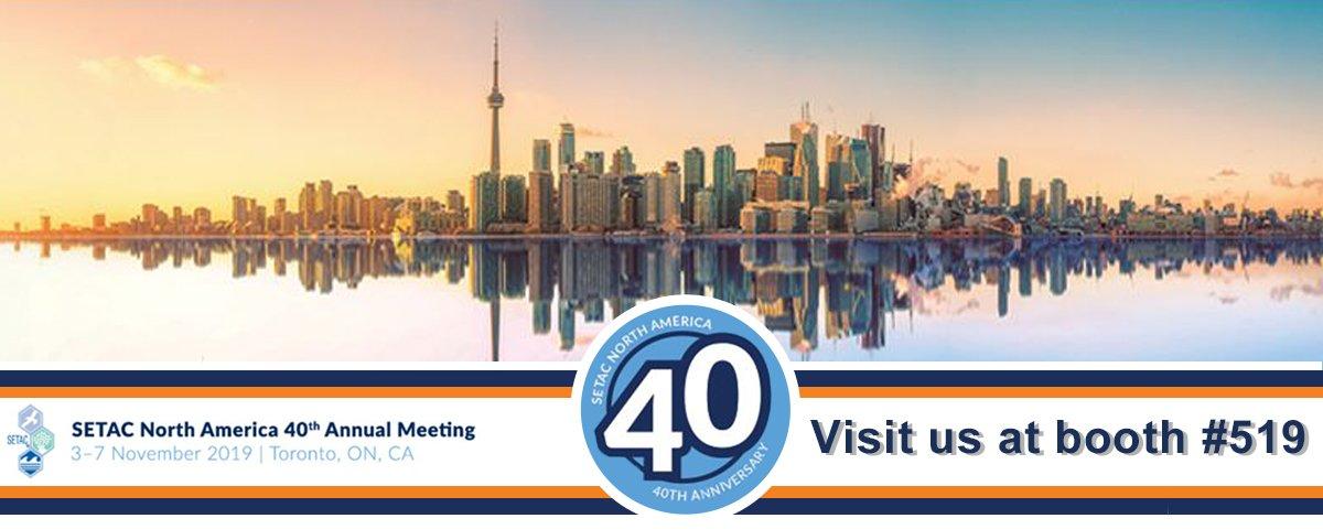 SETAC Annual Conference - 3-7 November 2019