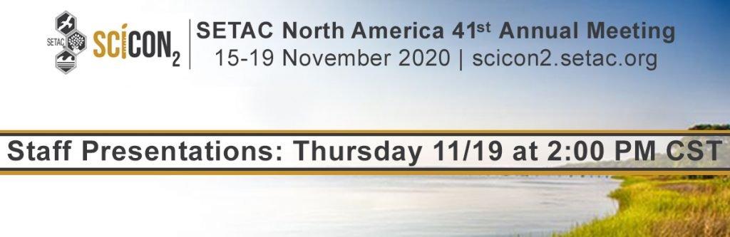SETAC North America Conference - 15-19 November 2020