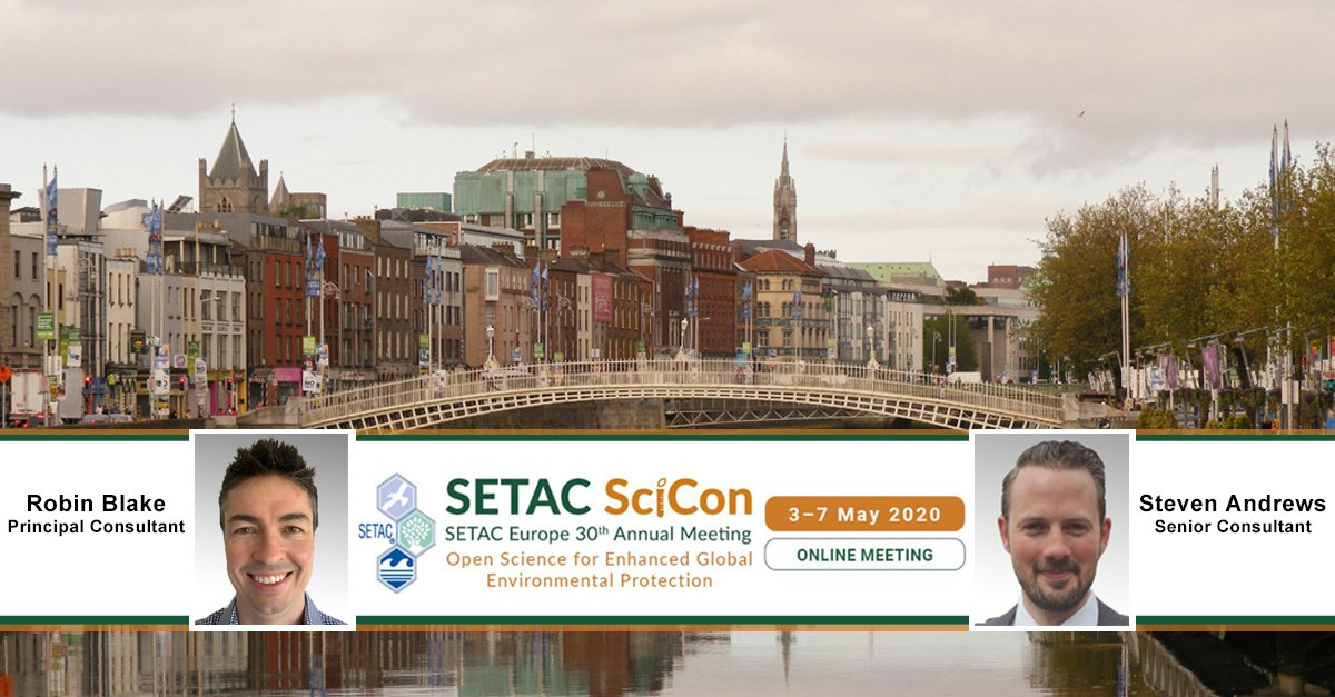 SETAC Europe 30th Annual Meeting - 3-7 May 2020
