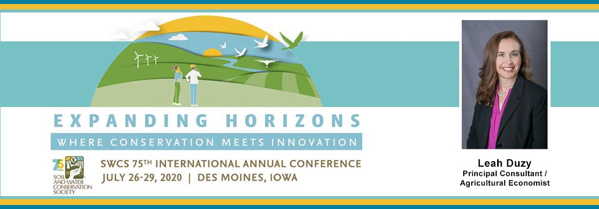 Soil and Water Conservation Society (SWCS) Conference - July 26-29, 2020