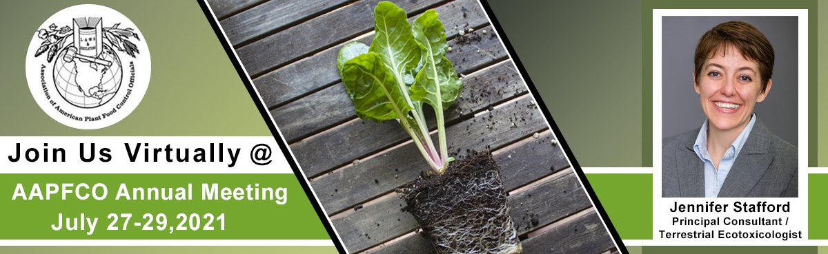 Association of American Plant Food Control Officials (AAPFCO) Conference - July 27-29, 2021