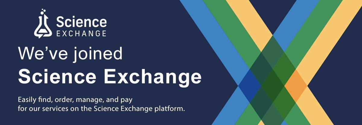 We've joined Science Exchange!