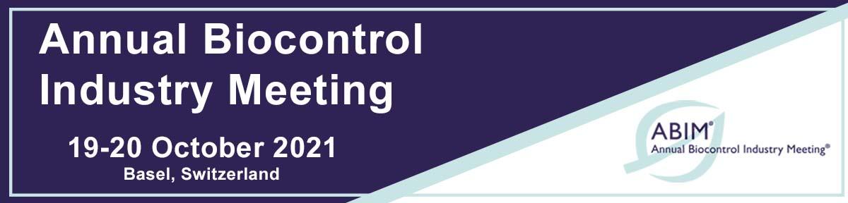 ABIM Annual Biocontrol Industry Meeting - 19-20 October 2021