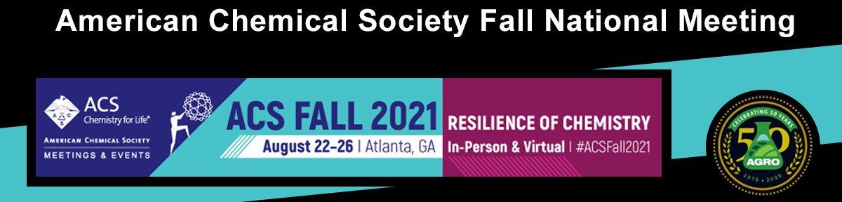 ACS Fall National Meeting